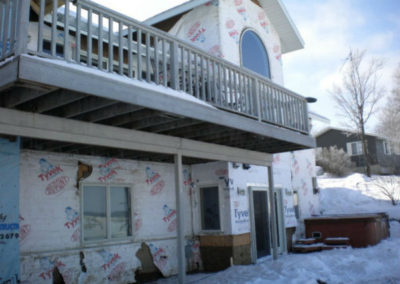 Nelson Home Winter Work